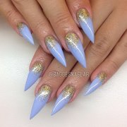 fearless stiletto nail art