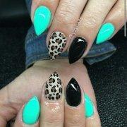 fearless stiletto nail art