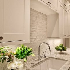 White Kitchen Backsplash Herbs And Spices 30 Awesome Ideas For Your Home 2017 With Grayish Tile