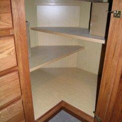 Kitchen Corner Cabinets Granite Counters Cabinet Storage Ideas 2017 Base Shelves
