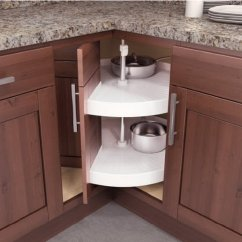 Kitchen Corner Cabinet Faucet Pull Out Storage Ideas 2017 Vauth Sagel S Door Mounted Pie Cut Lazy Susans