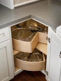 Kitchen Corner Cabinet Storage Ideas  Cabinets Matttroy