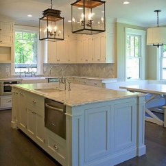 Lighting Kitchen Diamond Cabinets 30 Awesome Ideas 2017 Traditional With A Pair Of Glass Pendant Lanterns
