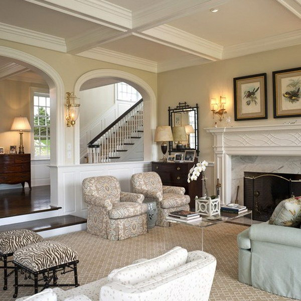 beautiful living room ideas accents 40 designs 2017 traditional with beige painted wall