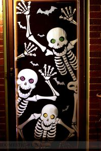 Halloween Door Decorating Ideas. Great Halloween Door