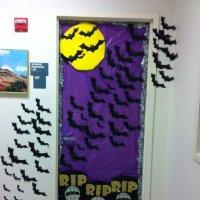 30+ Cute and Fun Halloween Door Decorating Ideas 2017