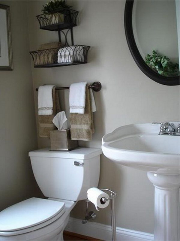 Over The Toilet Storage Ideas For Extra Space 2017
