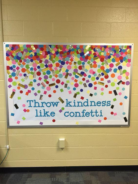 Bulletin Board Kindness Ideas