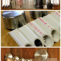 Kitchen Cabinet Storage Solutions Door 35+ Cool Diy Projects Using Pvc Pipe 2017