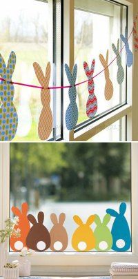 15+ Easy DIY Window Decorating Ideas 2017