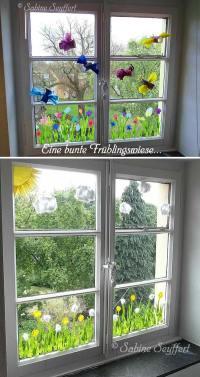 15+ Easy DIY Window Decorating Ideas 2017