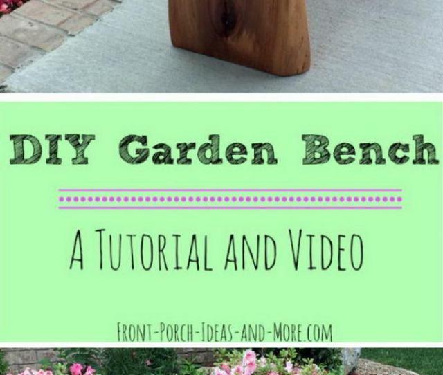 Solid Cherry Garden Bench