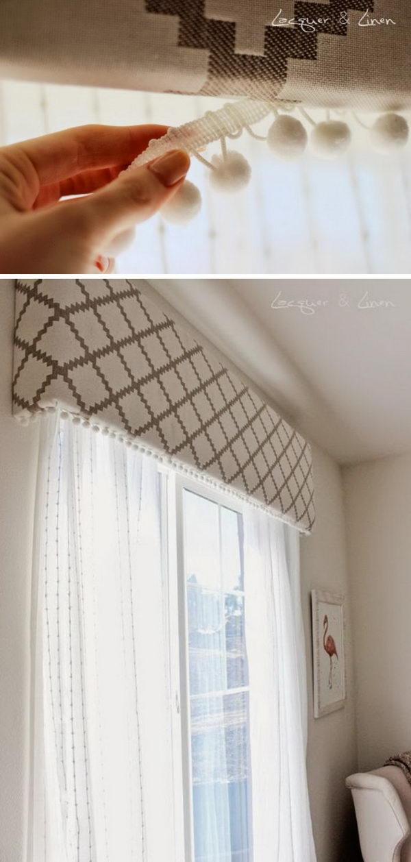 Window Valence Pattern : window, valence, pattern, Awesome, Window, Treatment, Ideas, Tutorials