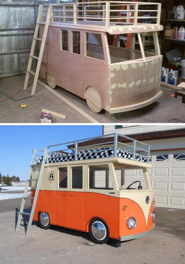 VW Bus Bunk Beds.