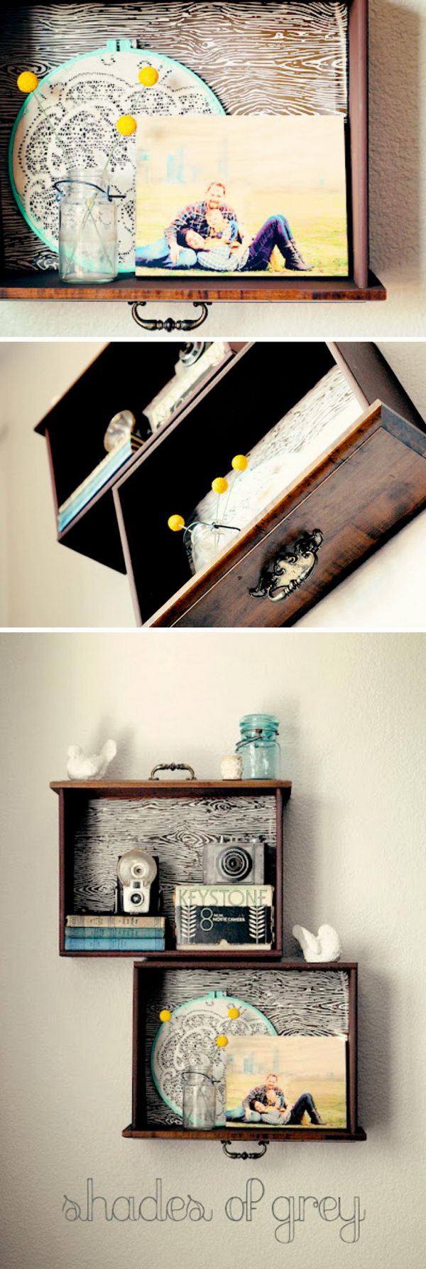 15 Diy Furniture Ideas Using Old Drawers 2017