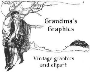 Grandma's Graphics – Unique Public Domain Clipart