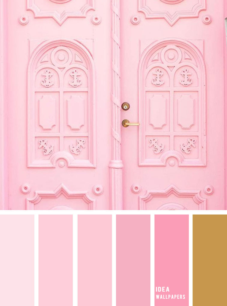19 The Perfect Pink Color Combinations { Blush Pink and Gold }, blush color palette, blush colour palette #color #colorpalette
