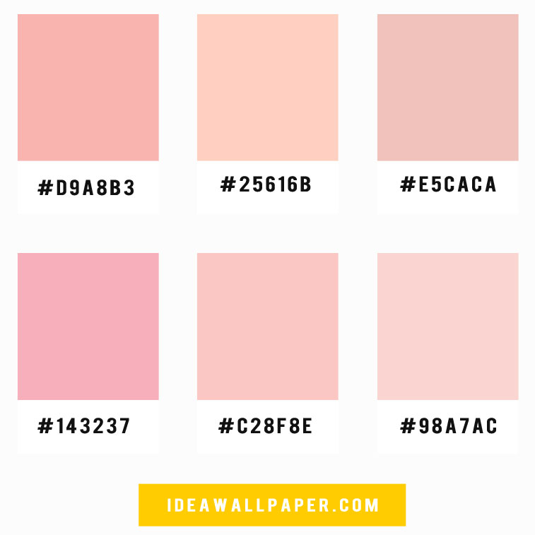 Shades of pink color scheme , color palette , soft pink color scheme #color #colorpalette