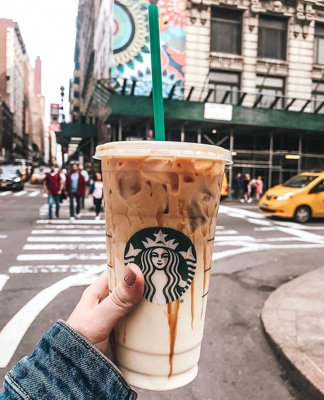 Iced coffee Starbucks #starbucks #coffee