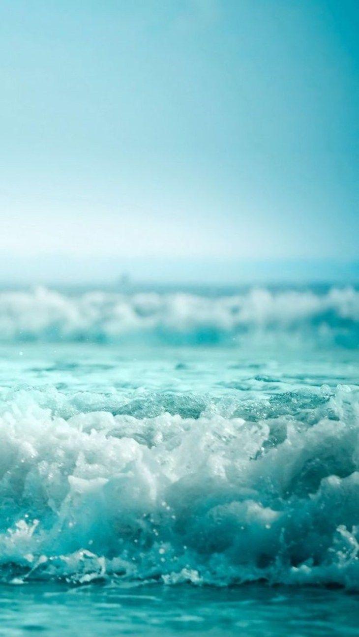 Beautiful sea foam iPhone wallpaper
