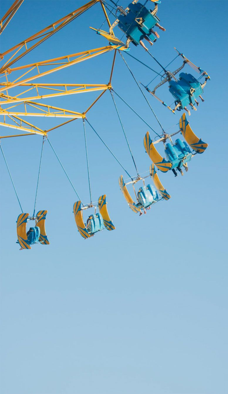 25 Summer Fun fair Wallpapers To Style Phone This Summer - Pastel big wheel iPhone wallpaper #wallpapers #bigwheel #funfair #iphonewallpaper