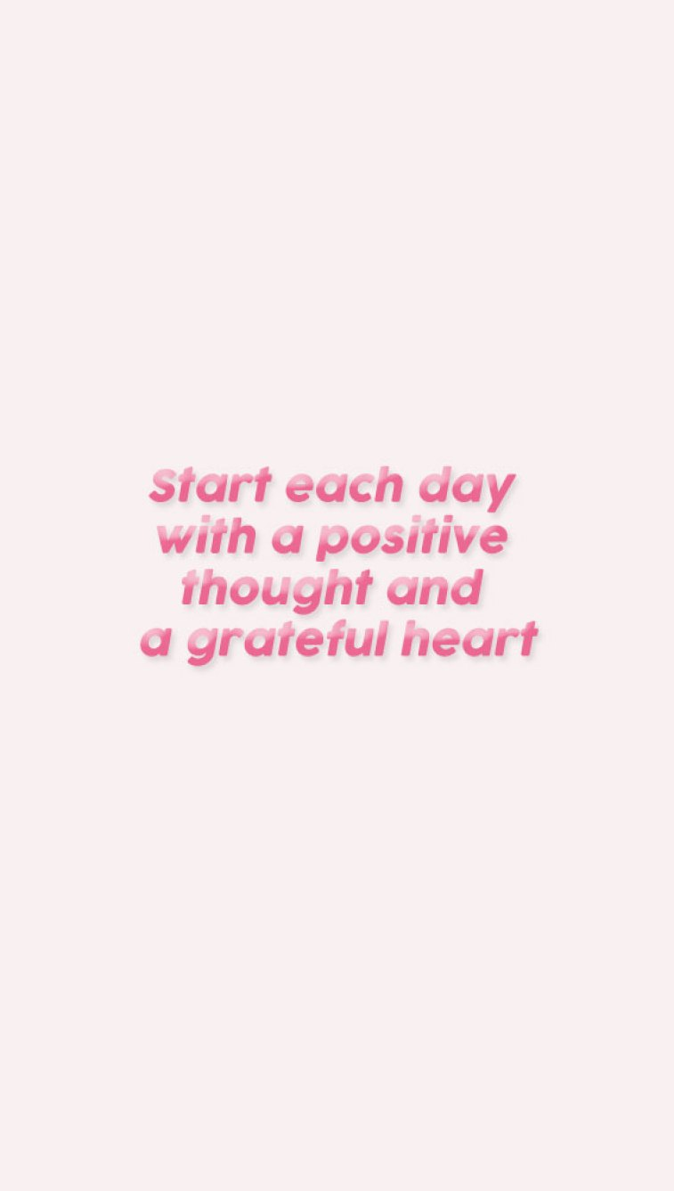 34 positive inspiration quotes - Start each day with a positive thought and a grateful heart.. #quote #inspirational