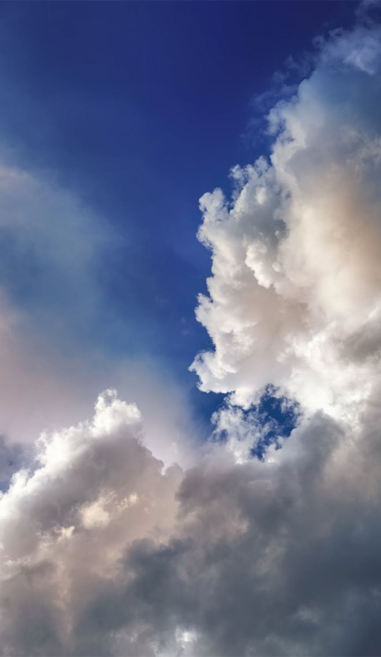 Blue sky with cloudy - iphone wallpaper , smart phone wallpaper