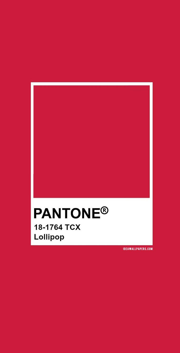 Wallpaper For Iphone Summer Pantone Lollipop Pantone 18 1764 Color Inspiration
