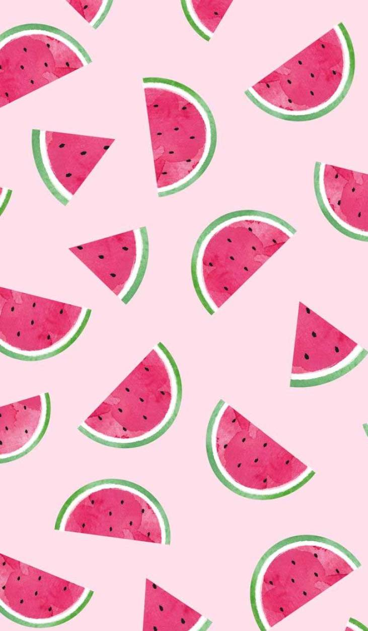 100 awesome iphone wallpaper that you should download right now - watermelon illustration #wallpaper #iphonewallpaper