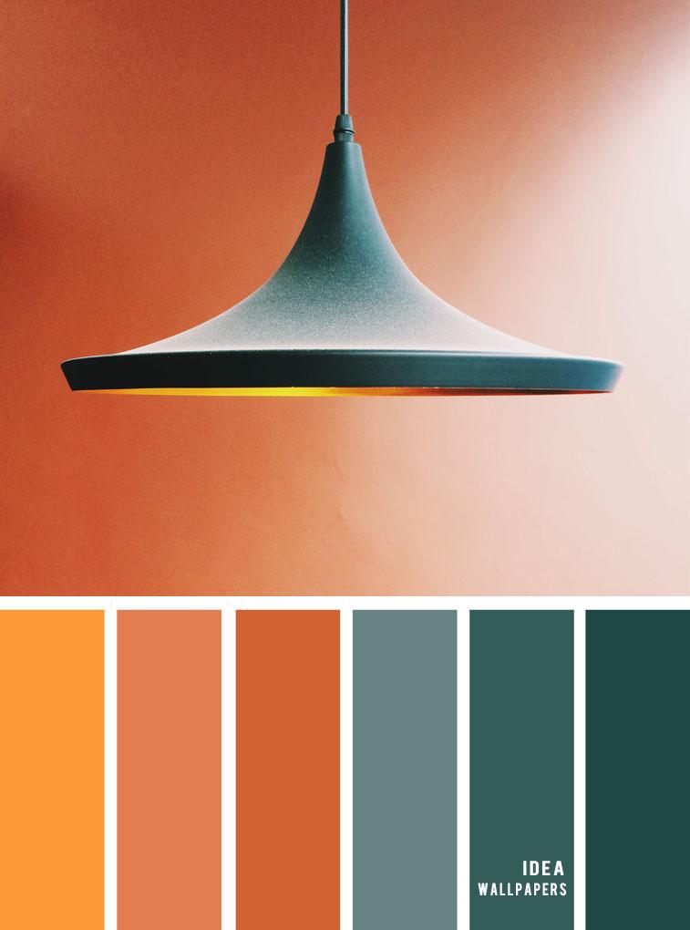 12 Beautiful blue teal color combos { Terracotta + Dark Blue Green Teal }, color palette , blue teal ,deep blue and teal #colors #colour #pantone #color #terracotta