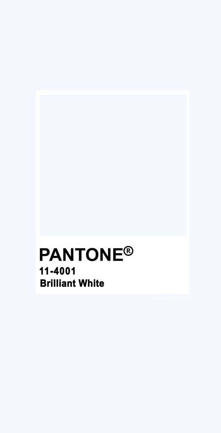 Pantone 2020 Spring/Summer : Brilliant White 11-4001 , pantone color , pantone 2020 summer #colors brilliant white color