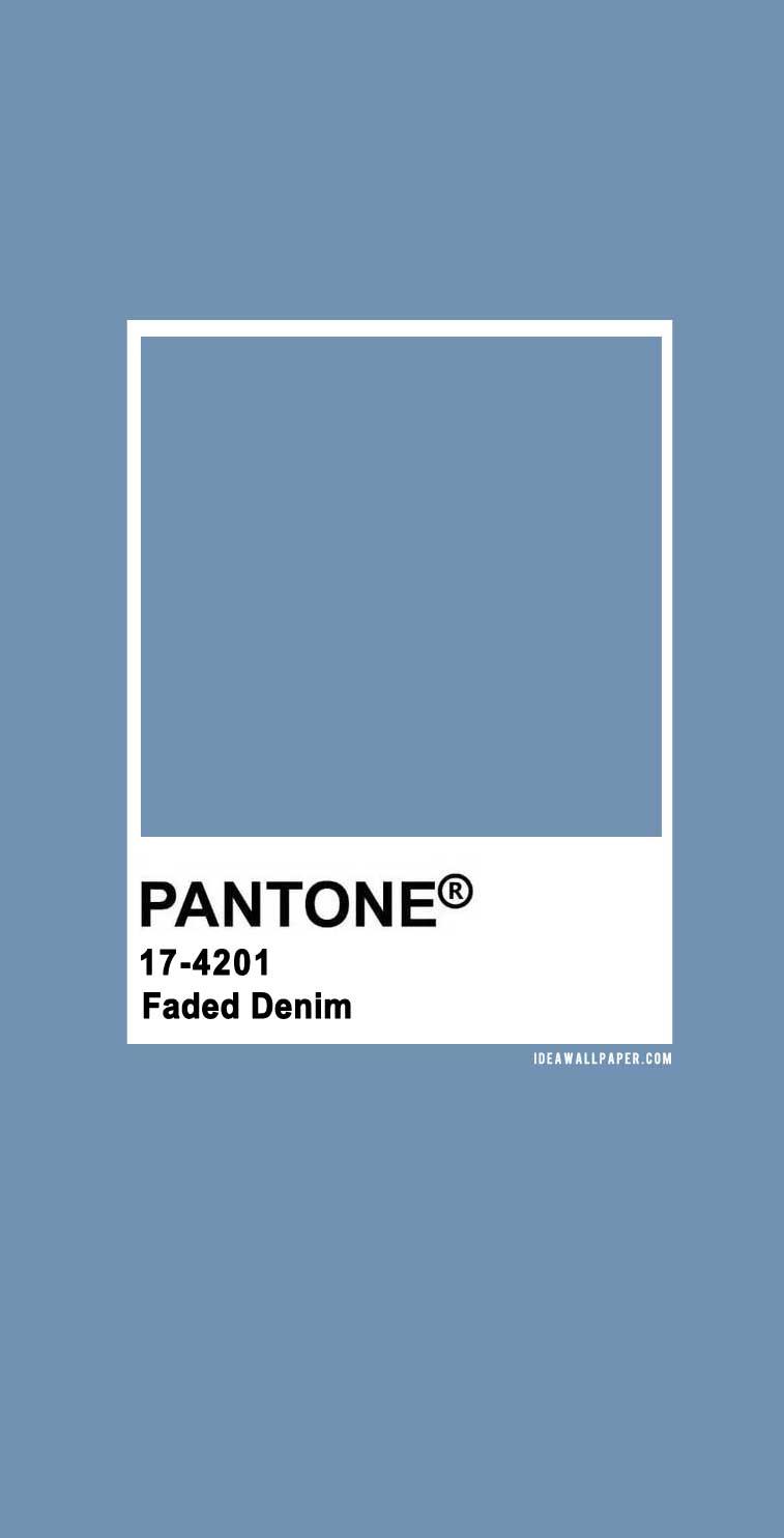 Pantone 2020 Spring/Summer : Faded Denim 17-4201 , pantone 2020 , faded denim, blue color #colors #pantone  faded denim pantone