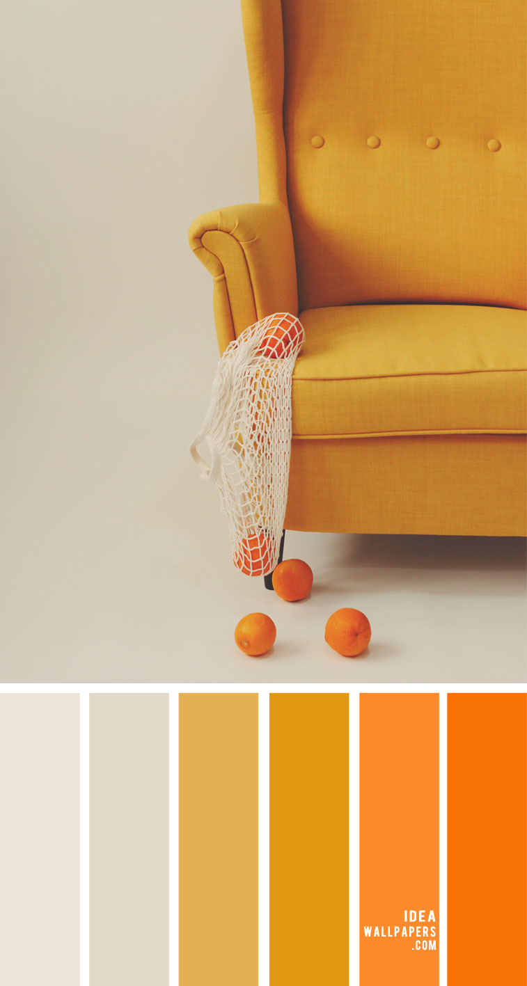 mustard and orange color palette, yellow mustard and orange color combos, color scheme, orange and mustard color combinations