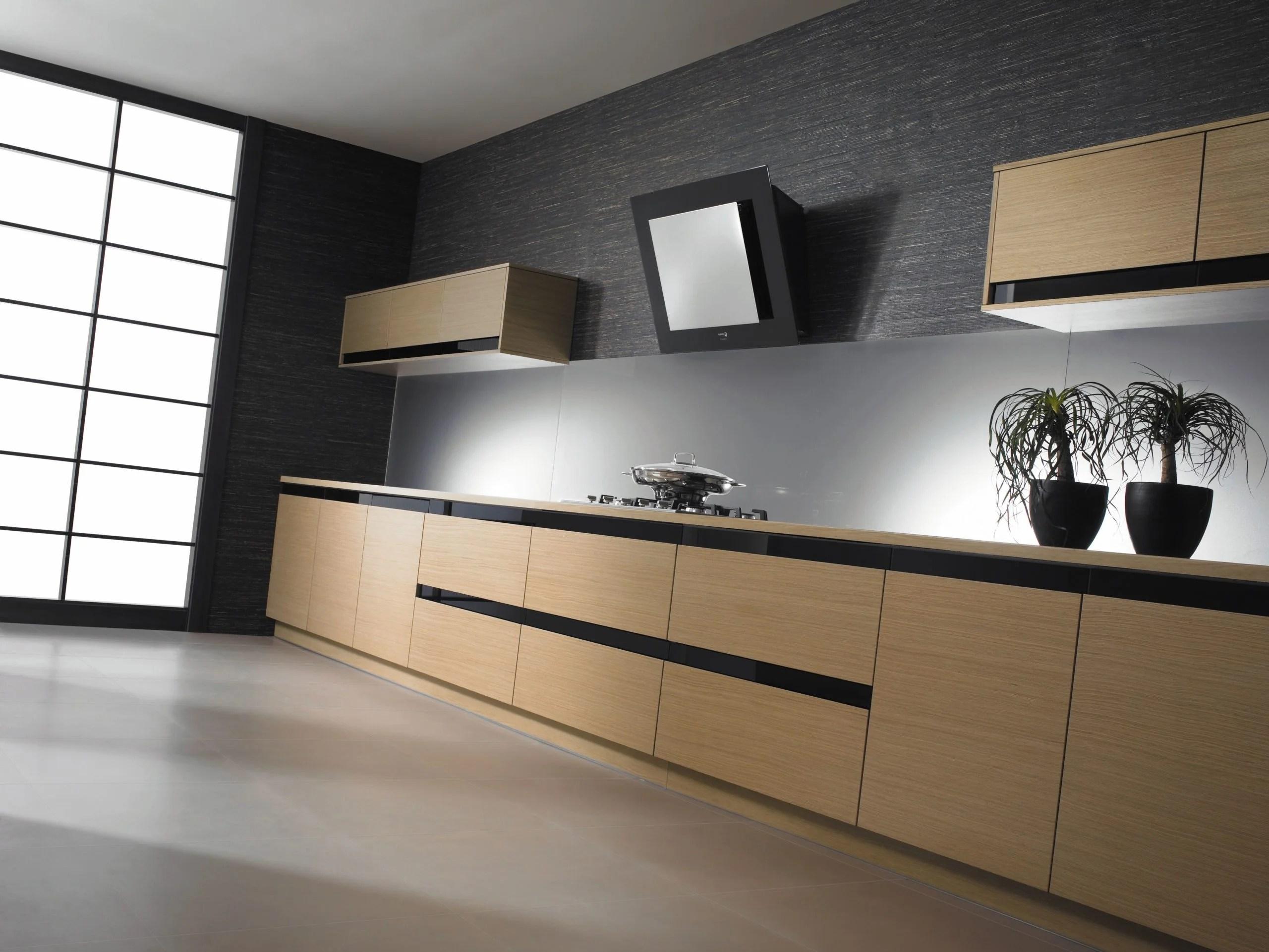 Cocina roble moderna  Diseo e instalacin de cocinas