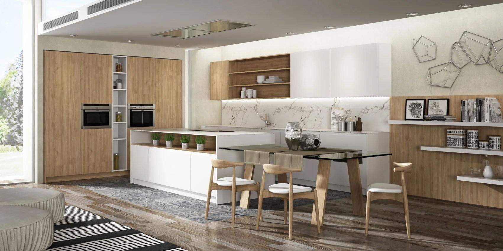 Cocina abierta  Diseo e instalacin de cocinas  Idecocina