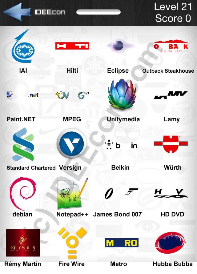 Logos Level 21 : logos, level, Level