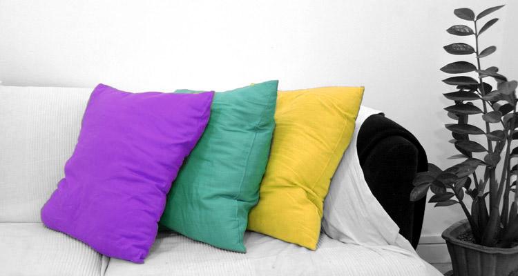 Cuscini per divano fai da te