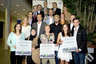 Act for Impact Finalisten 2012