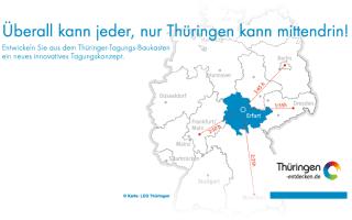 Ideenwettbewerb zum Tagungskonzept für Thüringen