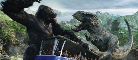 King Kong 360 3D - Universal Studios Hollywood