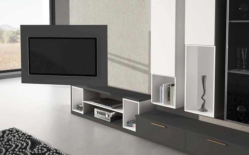 Idehbita  Saln con soporte giratorio tv tipo panel y