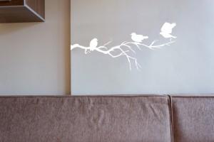 autocolant decorativ sufragerie living