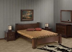 dormitor din bambus