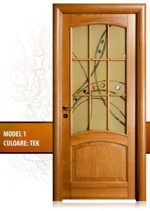 zeci de modele de usi interior lemn
