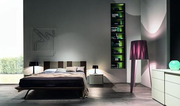 mare dormitor pat centru