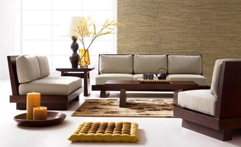sufragerie stil japonez
