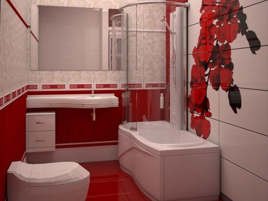 mica rosie baie
