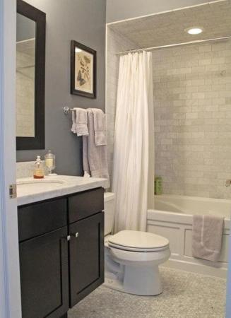 baie gri faianta stil zid