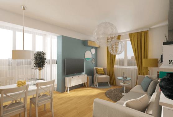 living room contemporan