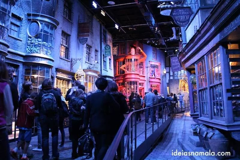 Beco Diagonal - Making Off Harry Potter